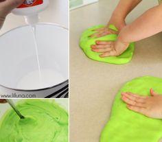 How to Make Homemade Gak - DIY & Crafts - Handimania