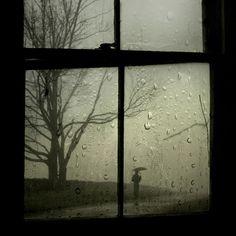 It's wet outside .....