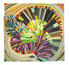 Modern Mood Quilt by Sherri Lynn Wood: Awesome! Amazingly she has a free tutorial! http://tinyurl.com/4my7dsd