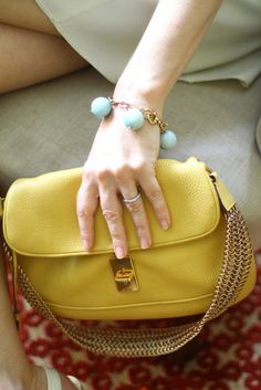love bracelet and bag!