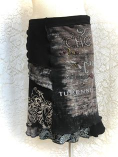 Cotton Skirt Upcycle