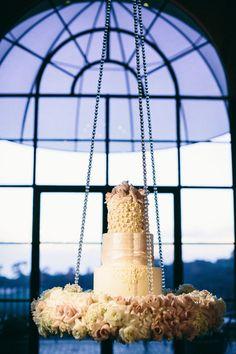 Wedding ● Cake Table ● Cream/Blush