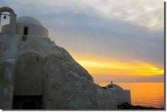 Mykonos sunset, by nanettesol, Flickr