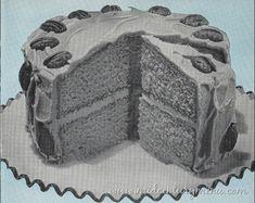 Bonnie Butterscotch Cake, 1952 – The Vintage Cake Corner