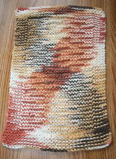 Woolly Worm Dishcloth Blogiversary Loom A Long