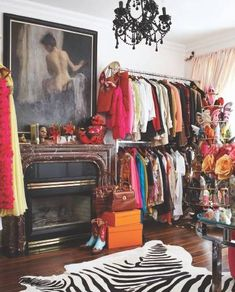 A walk-in closet is a must, of course.