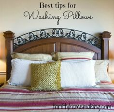 Best Tips for Washing Pillows