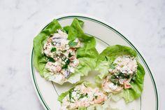 Mediterranean Chicken Salad Cups
