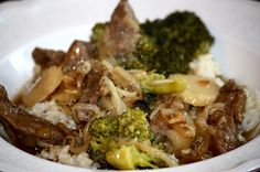 Beef-n-Broccoli Stir Fry ~ Trim Healthy Mama style (E)