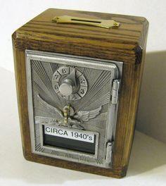 Post Office Box Door Bank / Safe CIRCA 1940's Door by Boxnmor