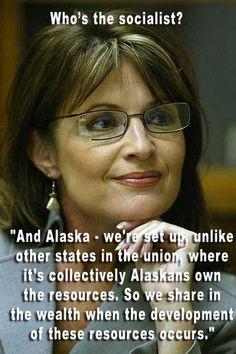 Sarah Palin - hypocrite?