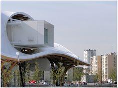 Centre Pompidou-Metz, Paris by shigeru ban
