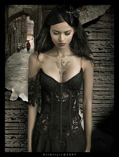 Stunning Gothic Lace