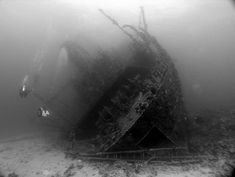 Visible listing to one side on the seabed, this next sunken ship is a favorite dive site in the Egyptian Red Sea. Built in Japan in 1969, the Giannis D was originally named the Shoyo Maru; then when she was sold in 1975, the 300-foot cargo vessel was renamed the Markos – a moniker that can still be made out on the ship's hull.