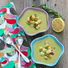 Sweet Pea Soup HealthyAperture.com