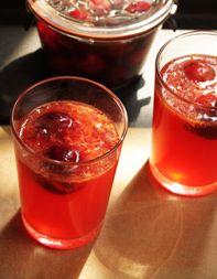 Bourbon-Cherry Lemonade
