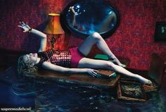 Natalia Vodianova in 'Sleep No More' - Photographed by Mert & Marcus (W December 2012)    Complete shoot after the click. december, natalia vodianova, nataliavodianova, magazines, fashion editorials, mert, sleep, decemb 2012, editorial fashion