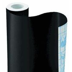 "Amazon.com: Black Contact Paper, 18"" x 75': Patio, Lawn & Garden"