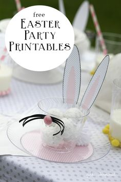 FREE Easter Party Printables...so many cute ideas!