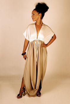 Sophia Maxi Dress. $249.00, via Etsy.  This dress is BAD!