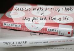 What if the demands of day jobs and family work don't hurt your art, but actually make it better? A great read for all the writers out there.