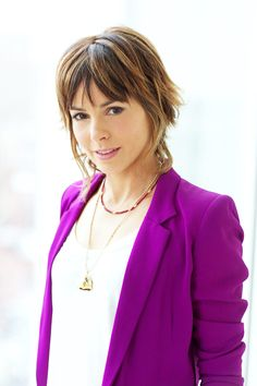 Simply stated. Authentic French beauty Stephanie Szostak of Iron Man 3 with Vu's Luxe Lips Frambois lip balm. Bisou! Bisou!  My Favorite City: Stephanie Szostak - Page 4 - ELLE