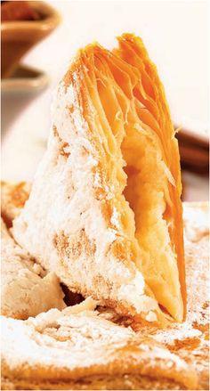 μπουγατσα today dessert, greek aromasαρωματα, greek sweet, greek food