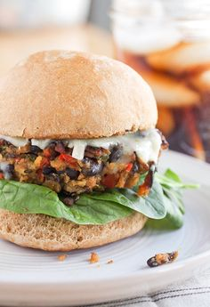 Black Bean Burgers by Smells Like Home