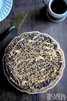 Chocolate Peanut Butter Swirl Icebox Cake #glutenfree #vegan