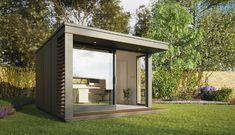 Mini pod es una genial idea de casa prefabricada para poner en el jardin