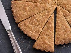 Crispy Brown Sugar Shortbread #recipe