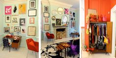 I want to live in the Kate Spade London pop up shop designed by Katie Evans 2011