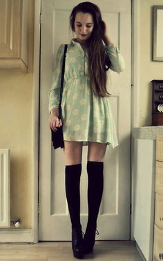 Dress, Bag