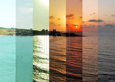 sun lapse by ~isilkrnfl on deviantART I love the colors!