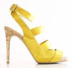 STELLA MCCARTNEY #shoes #sandals # yellow
