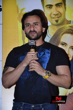 Kalki Koechlin, Saif Ali Khan And Ileana D'Cruz And At Happy Ending Movie Launch