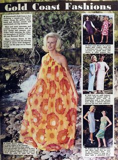 Gold Coast fashions, Australia, 1964