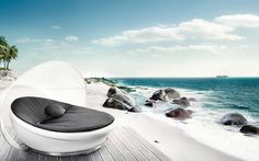 Wow, imagine taking time out in this chair for an afternoon nap...