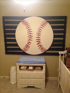 Baseball Nursery; pallet project
