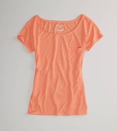 Just bought this today- AE's new Feather Light tees. Super, super soft and airy, I love it!