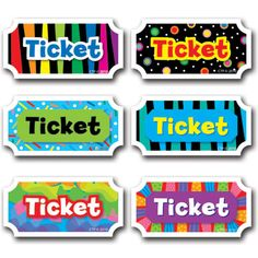 Printable tickets for classroom management incentives...