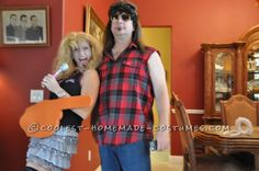 Hannah Montana is Dead and Billy Ray Cyrus Couple Costume... Coolest Halloween Costume Contest