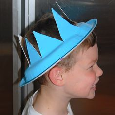 Paper Plate Crown Craft for King Solomon