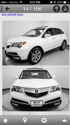 Yes please!  Dream car.  Acura MDX