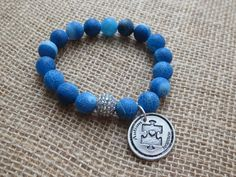 Autism Awareness Bracelet Light It Up Blue by capgirlcreative, $15.00 LOVE this one!