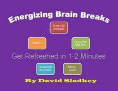 Brain Breaks- videos on the blog.
