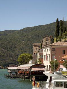 Morcote, Lake Lugano, Tessin, Switzerland