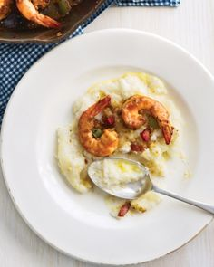 South Carolina Shrimp and Grits. Craving some down-home Southern fare? Serve this perfect combo.