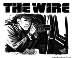 Dream Thief Artist Greg Smallwood Illustrates Crime Movies And The Cast Of The Wire [Art] - ComicsAlliance | Comic book culture, news, humor, commentary, and reviews