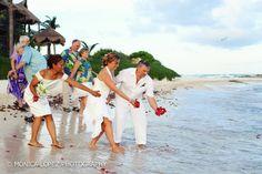 Riviera Maya symbolic weddings.